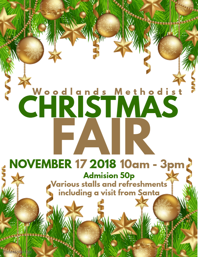 Christmas Fair Poster - 2018